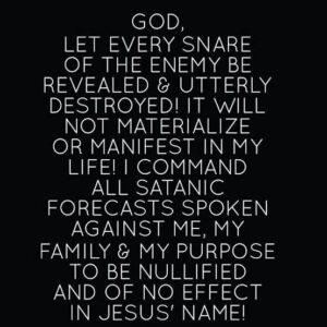 Destiny Changing Prayer Points