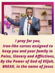 Family Altar Prayer Points